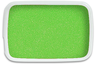 Lime Green Sand 1 Kilo Bag